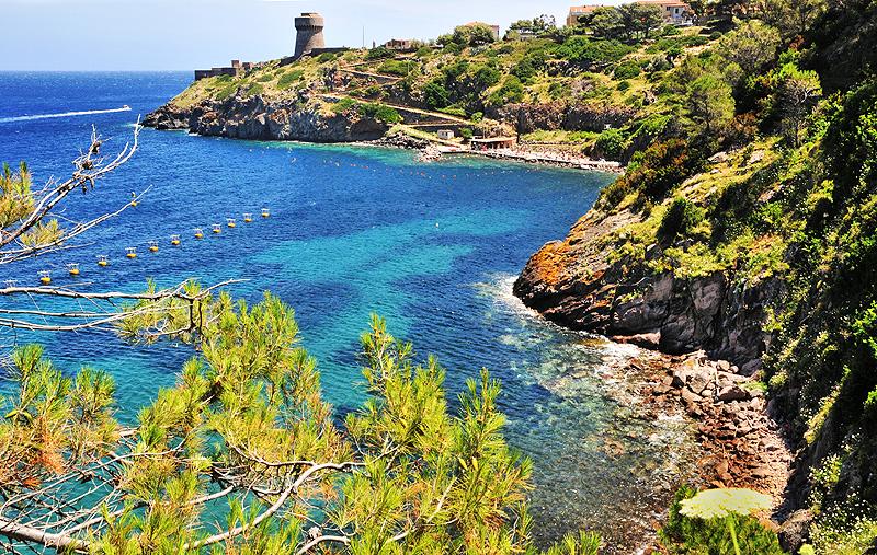 Монте Арджентарио на Море