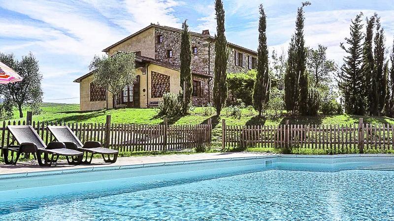 купить дом в италии бассейн вилла тоскана