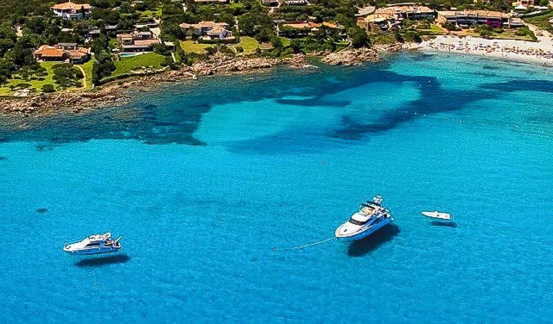 море пляж недвижимость на море сардиния лодки италия