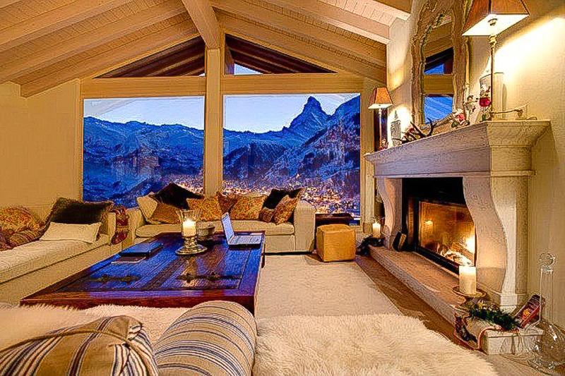 купить дом в горах шале недвижимость в италии горы камин уютный дом