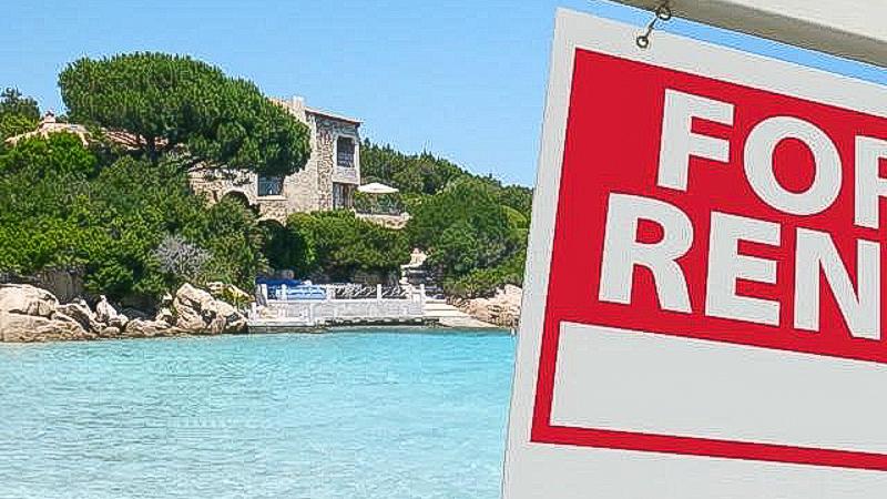 море вилла в аренду аренда италия сардиния фор рент