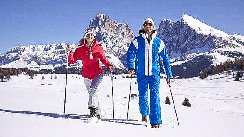 зима италия лыжи снег горы горнолыжные курорты отдых