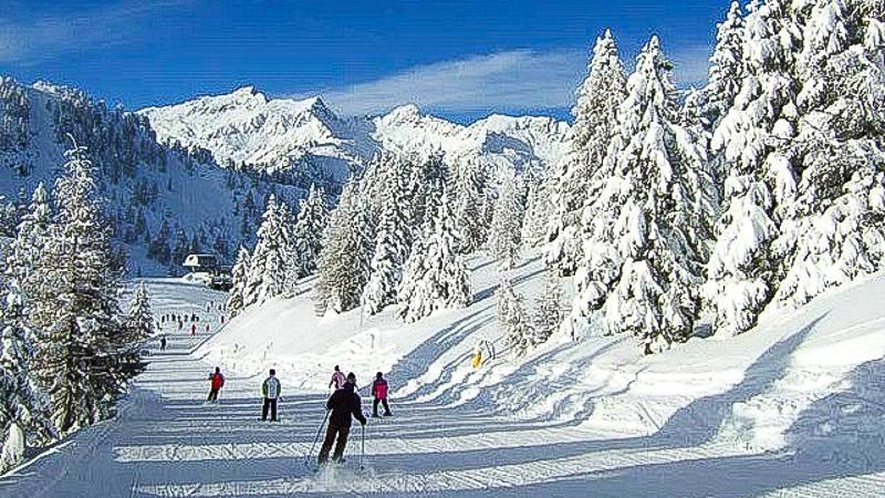 италия горы трассы горнолыжные курорты семейный отдых