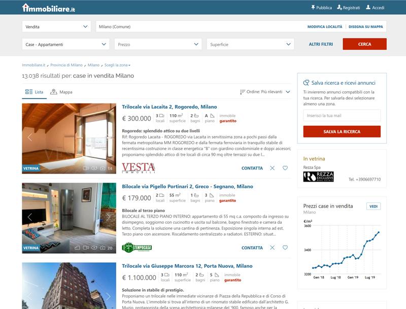 итальянские поисковые системы купить дом в Италии иммобилиаре