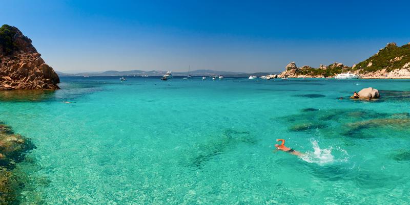 море Сардиния Коста Смеральда Порто Черво
