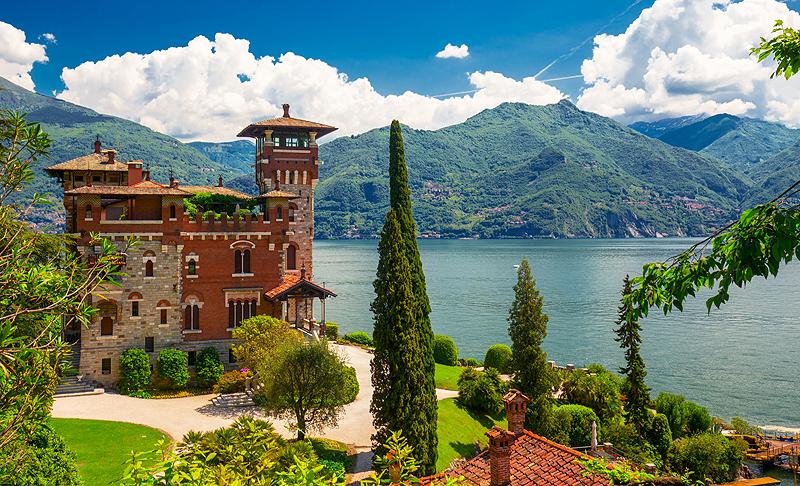 Купить дом на озере комо италия дубай остров пальма отели
